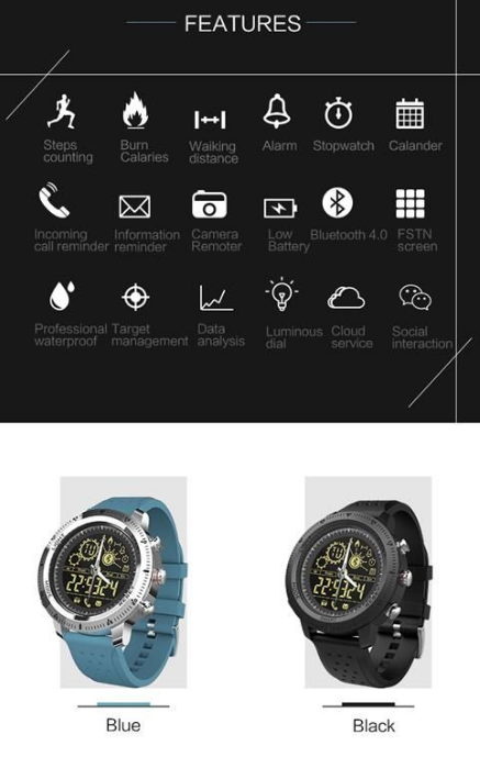 T Watch Main Key Features